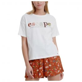 Funky Buddha Γυναικεία κοντομάνικη μπλούζα